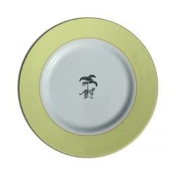 Harlequin - Yellow Cheetah Dessert plate, 21cm, yellow