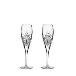 Kintyre Pair of champagne flutes, H22.5cm