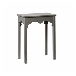 Shanghai Side table, W50 x D30 x H65cm, purbec stone