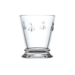 Bee Set of 6 goblet glasses, 27cl, clear
