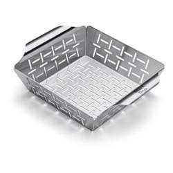 Deluxe grilling basket, H7 x W19.5 x D24cm