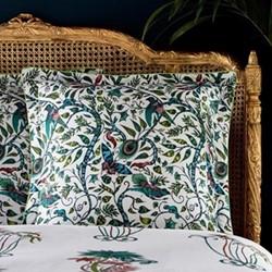 Jungle Palms - 200 Thread Count Square pillowcase, jungle