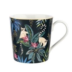 Tahiti - Lemur Mug, dark green