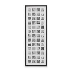 Diment 52 multi aperture photo frame, H133 x W47.5cm, black