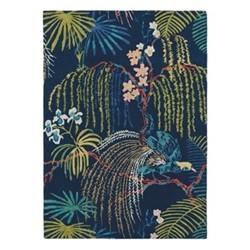 Rain Forest Rug, 170 x 240cm, tropical night