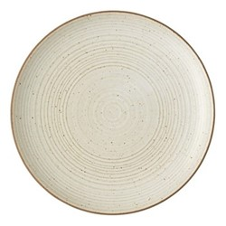 Nature Side plate, Dia22cm, sand