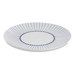 Iba Pair of charger plates, 32cm, indigo