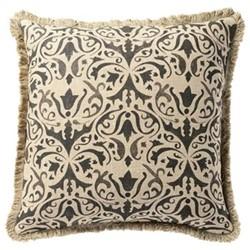Nassau Cushion cover, L51 x W51cm, charocoal