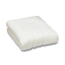Zero Twist Bath sheet, 100 x 140cm, cream