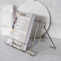 Brompton Cook book holder, H23.50 x W34 x D6.50cm, antique brass finish