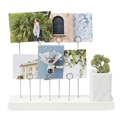 Gala Photo display, W21 x H8cm, white