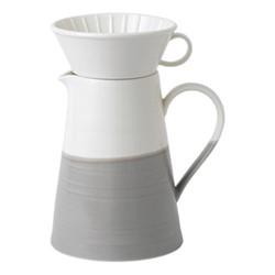 Coffee Studio Coffee jug and dripper, 1.3 litre, grey