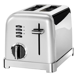 Style Collection CPT160SU 2 Slice toaster, frosted pearl silver