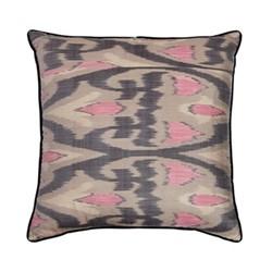Ikat Cushion, 50 x 50cm, Grey