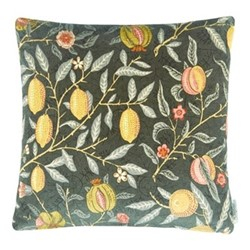 Fruit Velvet Cushion, W50 x L50cm, multi