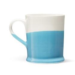 Colour Dip Mug, H10cm, Blue