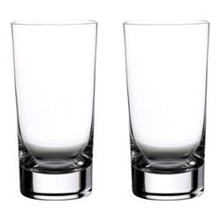 Elegance Pair of gin highballs, H16cm - 45cl, clear