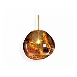 Melt Mini Mini hanging pendant, H24 x L27 x W27cm, gold