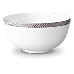 Corde Large bowl, 23cm, platinum