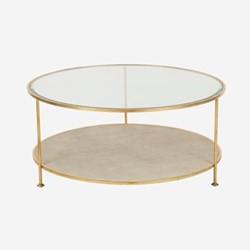 Genevieve Coffee table, H49 x D107cm