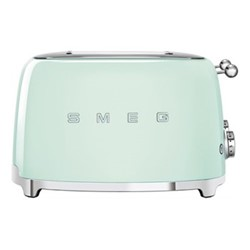50's Retro 4 slice toaster - 4 slot, pastel green