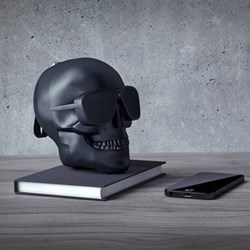 AeroSkull XS+ Bluetooth speaker, H13.3 x W10 x D13.2cm, matt black