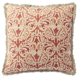 Nassau Cushion cover, L51 x W51cm, washed rust