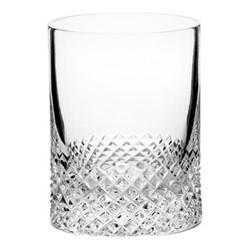 Diamond Pair of shot glasses, H6.5 x D5cm - 75ml, clear