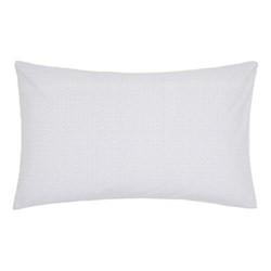 Mya Pair of standard pillowcases, 74 x 48cm, sky blue