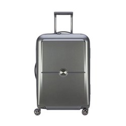 Turenne 4-Double wheel trolley case, 65cm, silver