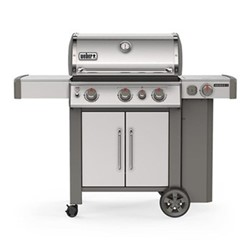 Genesis II SP-335 GBS Gas barbeque, H120 x W145 x D74cm, stainless steel