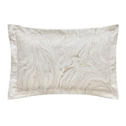 Makrana Oxford pillowcase, L48 x W74cm, moonstone