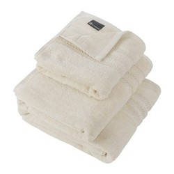 Egyptian Cotton Bath towel, 70 x 125cm, ivory