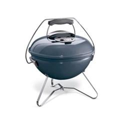 Smokey Joe Premium Portable charcoal barbecue, slate blue