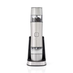 Style Collection SG6SU Seasoning mill, frosted pearl silver