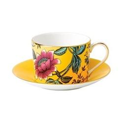 Wonderlust - Tonquin Teacup and saucer, 15cl, yellow