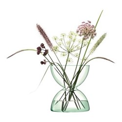 Canopy Vase, H24cm, clear