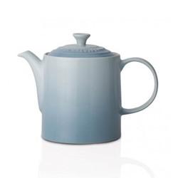 Stoneware Grand teapot, 1.3 litre, coastal blue