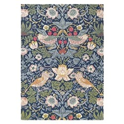 Strawberry Thief Rug, 170 x 240cm, indigo