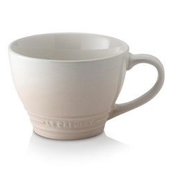 Stoneware Grand mug, 400ml, meringue