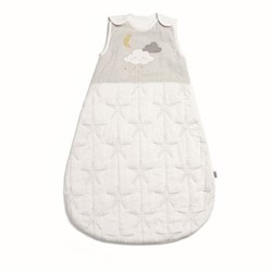 Cloud Dreampod sleeping bag, 0-6 months - 2.5 tog, white/grey