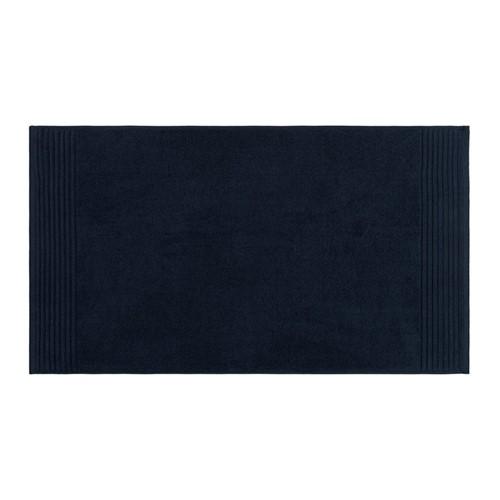 Cotton Bath mat, 50 x 90cm, navy