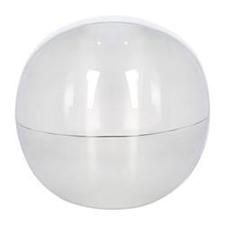 Large spherical box, D16cm, silver