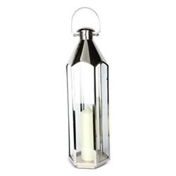 Belize Large lantern, H71 x L23 x D23cm, stainless steel