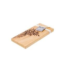 Pineapple Small serving board, L30 x W15 x H2cm, oak