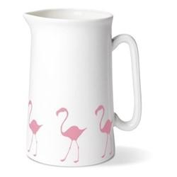 Flamingo Pint Jug, H13.5 x Dia9cm