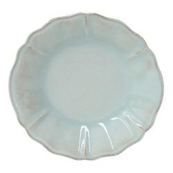 Alentejo Set of 6 soup/pasta plate, 24cm, turquoise