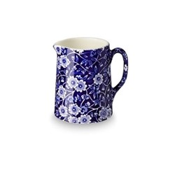 Calico Tankard jug mini, 16cl - 1/4pt, blue