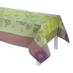 Asia Mood Tablecloth, 220 x 380cm, almond