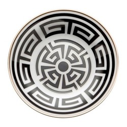 Labirinto Coffee saucer, 11cm, nero